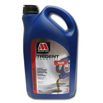 MILLERS TRIDENT LONGLIFE 5w30 Motorenöl, vollsynthetisch - 5L Kanister