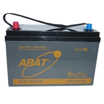 ABAT Hochleistungs-AGM Versorgungs-Batterie 12V 105Ah