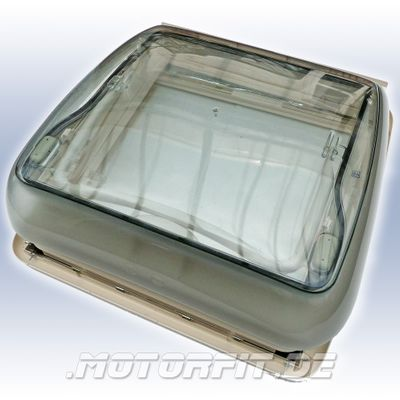Seitz/Dometic Mini Heki Style mit Zwangsentlüftung 40x40 Dachst. 25-42mm Standard – Bild 3