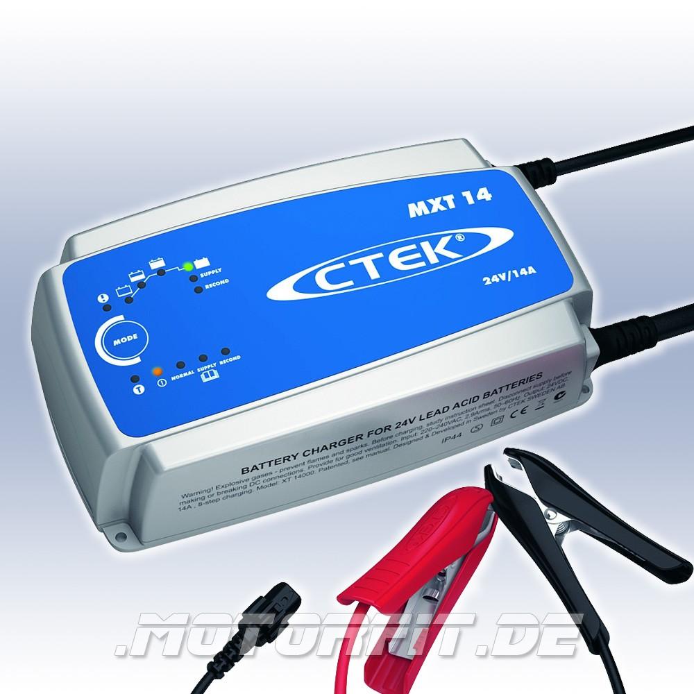 ctek mxt14 24v 14a ladeger t batterie ladeger te ctek. Black Bedroom Furniture Sets. Home Design Ideas