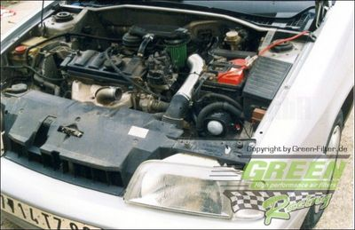 GREEN Direct-Kit - P013 - CITROEN BX 14 RE/TREBj.: >91- PS /kW