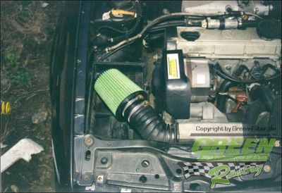 GREEN Direct-Kit - P018 - VOLKSWAGEN GOLF 2 1,8L GTI G60 SYNCRO - Bj.: 90>91 - 160 PS / 118 kW