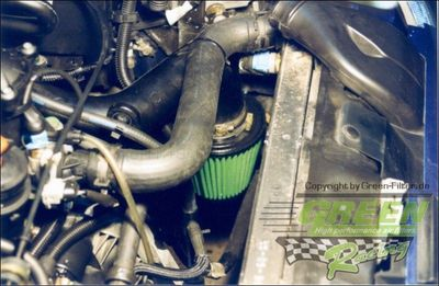 GREEN Direct-Kit - P092 - PEUGEOT 306 1,9L TD (steel air box with ABS)Bj.: >9890 PS / 66 kW