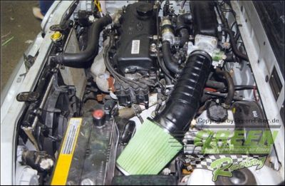 GREEN Direct-Kit - P107 - HYUNDAI EXCEL 1,3L 12V (Without air flow meter)Bj.: 90>95- PS /kW
