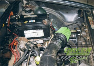 GREEN Direct-Kit - P196 - CITROEN BX 16 TRS CarburetorBj.: >87- PS /kW