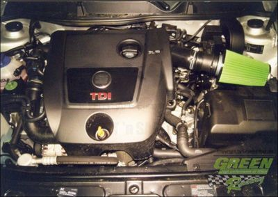 GREEN Direct-Kit - P424 - SEAT LEON CUPRA 4 1,9L TDIBj.: 01>05150 PS / 110 kW