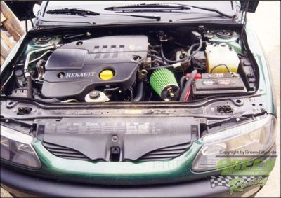 GREEN Direct-Kit - P425 - RENAULT LAGUNA 1,9L DCIBj.: 99>01107 PS / 79 kW