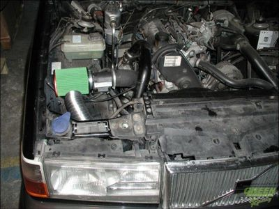 GREEN Direct-Kit - P516 - VOLVO 940 2,3L TURBO intercooler - Bj.: 90>94 - 165 PS / 121 kW