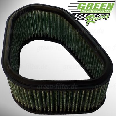 GREEN Quad Filter - QK014 - KAWASAKI KFX 700 V FORCE - 700ccm - Bj.: 03->