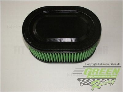 GREEN Bike Filter - MH0530 - HONDA CBR 1000 RR FIREBLADE (*) - 1000ccm - Bj.: 04-> (2Filter)