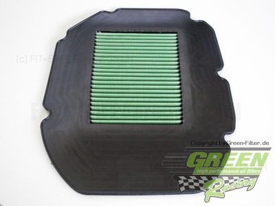 GREEN Bike Filter - MH0571 - HONDA VTR1000 SUPER HAWK - 1000ccm - Bj.: 97->05