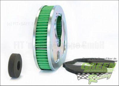 GREEN Bike Filter - MHD0470 - HARLEY DAVIDSON FXDB DYNA STURGIS - 1340ccm - Bj.: 91->