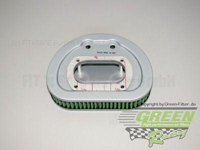 GREEN Bike Filter - MHD0566 - HARLEY DAVIDSON FLSTCI HERITAGE SOFTAIL CLASSIC F/I - 1450ccm - Bj.: 01->