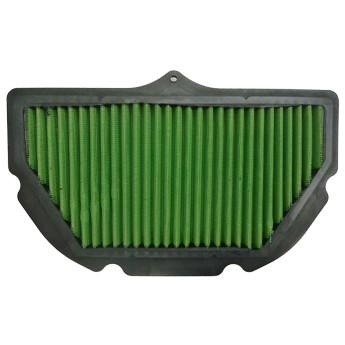 GREEN Bike Filter - MK0536 - KAWASAKI ZX6R NINJA - 600ccm - Bj.: 98->02