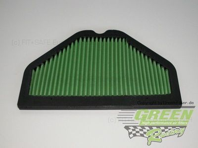 GREEN Bike Filter - MK0539 - KAWASAKI ZZR1100 - 1100ccm - Bj.: 93->01