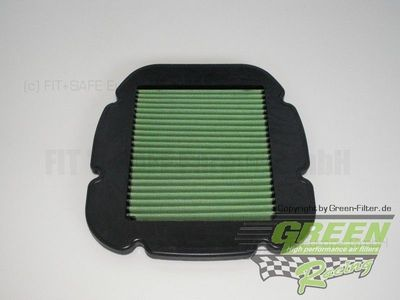 GREEN Bike Filter - MK0579 - SUZUKI DL 1000 V-STROM/GT - 1000ccm - Bj.: 02->08