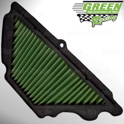 GREEN Bike Filter - MK0600 - KAWASAKI ZX6RR NINJA - 600ccm - Bj.: 07->