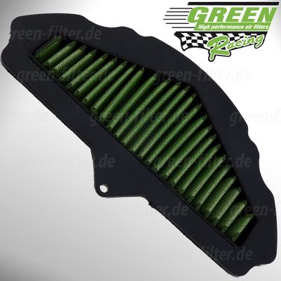 GREEN Bike Filter - MK0607 - KAWASAKI ZX 10 R NINJA - 1000ccm - Bj.: 08->10