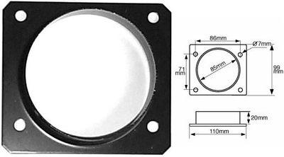GREEN Anschraub-Adapter 81mm