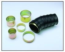 Anschluss-Adapter/Verbinder d 70mm x L 50mm
