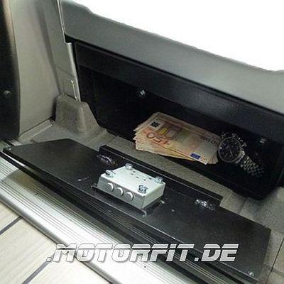 Mobiler Safe Tresor für Mercedes-Benz Sprinter ab BJ. 2006 mit Diebstahl Spezialschloss, Spezial Sicherheitsschlüssel