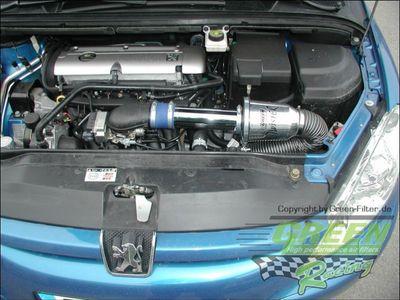 GREEN Speed'R'Kit - ST003 -  für PEUGEOT 307 CC 2.0L 16V mit 101kW / 138PS - Baujahr: ab 03