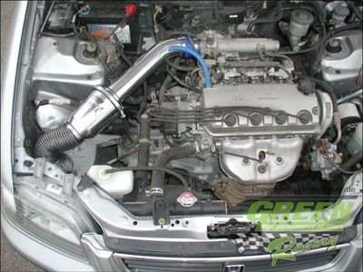 GREEN Speed'R'Kit - ST020 -  für HONDA CIVIC 5 DOOR 1,6L i LS 16V mit 85kW / 115PS - Baujahr: 98 - 00