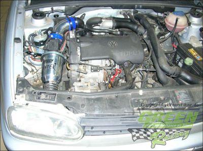 GREEN Speed'R'Kit - ST074 -  für VW GOLF 3 1,9L TDI mit 66kW / 90PS - Baujahr: 93 - 99