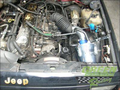 GREEN Speed'R'Kit - ST094 -  für JEEP CHEROKEE 4,0L i (XJ) mit 136kW / 185PS - Baujahr: ab 88