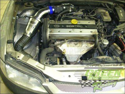 GREEN Speed'R'Kit - ST102 -  für OPEL CALIBRA 2.0L i  16V (écotec) mit 100kW / 136PS - Baujahr: ab 94