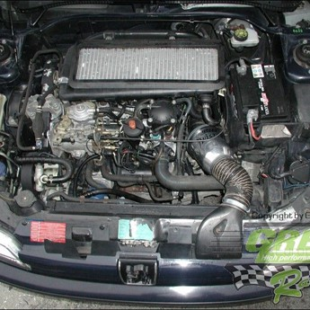 GREEN TWISTER-Kit  - DW104 -  für PEUGEOT 306 - 1,9L TD (steel air box) without ABS mit 66kW / 90PS - Baujahr: bis 98