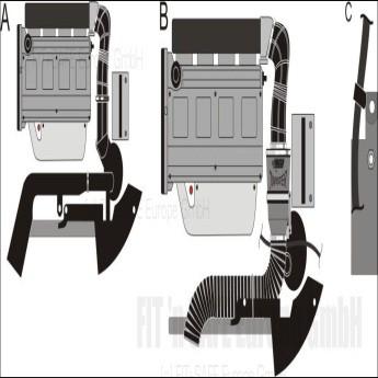GREEN TWISTER-Kit  - DW143 -  für FIAT BARCHETTA - 1.8L 16V  ohne Luftmassenmesser mit 96kW / 130PS - Baujahr: ab 00
