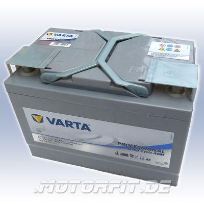 Varta Professional DC AGM LAD60 12V 60 Ah Batterie