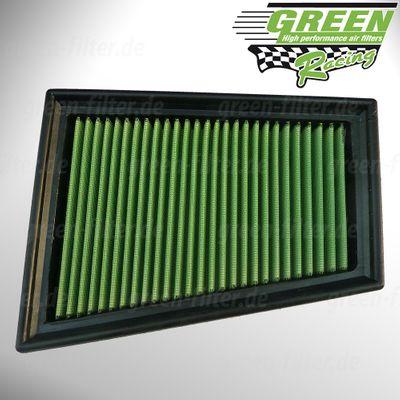 GREEN Austauschfilter - P950382 - für RENAULT - Megane II - 2.0i Turbo - Baujahr: 9/03 > 10/08 - 163/224/230 PS - 33-2849