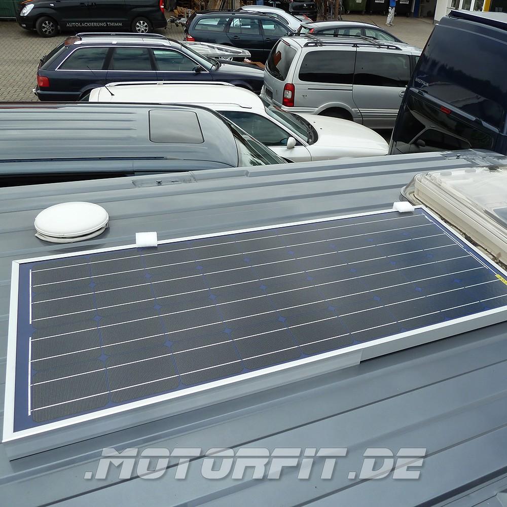 90w 12v solar set passend f r fiat ducato x250 u a. Black Bedroom Furniture Sets. Home Design Ideas