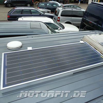 90W (12V) Solar-Set passend für FIAT Ducato (x250) u.a. Adria Twin/Pössl/Globecar uva. Wohnmobil-Solaranlage Set