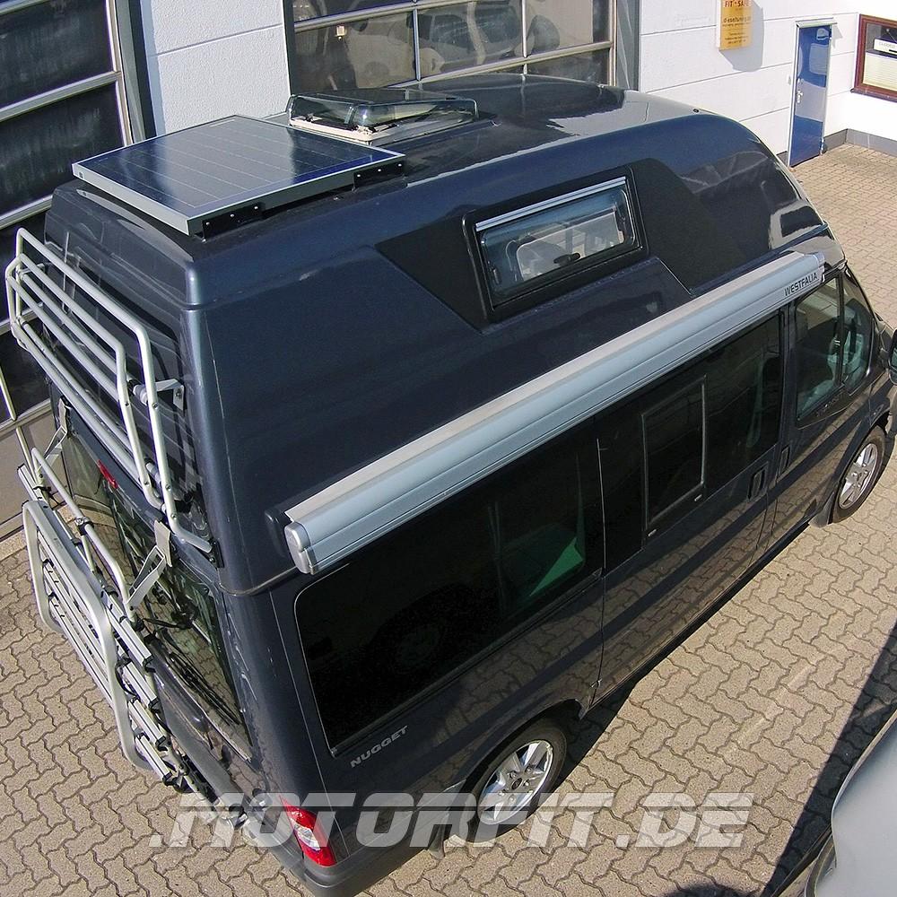 80W (12V) Solar-Set passend für Ford Nugget / Westfalia Nugget ...