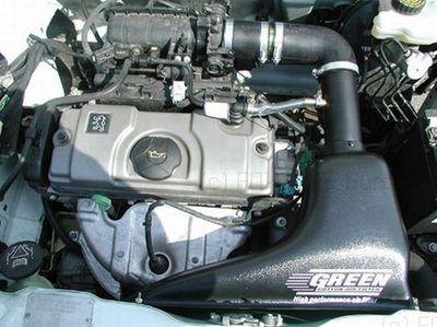 GREEN Airbox - ABPA007 - für Peugeot - 106 - 1,1L - 44kW / 60PS - Baujahr: ab 96