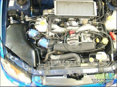 GREEN Airbox - ABPA024 - für Subaru - IMPREZA 2 - WRX 2,0L i 16V TURBO 4WD - 165kW / 225PS - Baujahr: ab 03