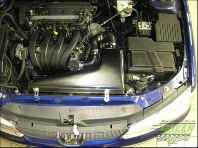 GREEN Airbox - ABPA032 - für Peugeot - 406 - 1,8L i 16V - 82kW / 112PS - Baujahr: 96 - 00