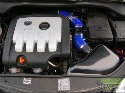 GREEN Airbox - ABPA037 - für VW - GOLF 5 - 2,0L TDI - 103kW / 140PS - Baujahr: ab 03
