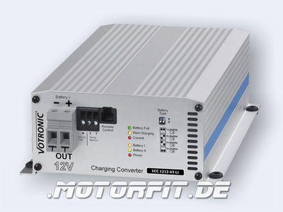 Votronic Lade-Wandler VCC 1212-45 Li für Lithium-Batterien / VCC1212-45 Li Ladebooster Booster
