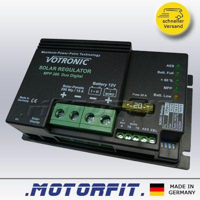 Votronic Solar-Regler MPP 250 Duo Dig. - 12V / MPP250