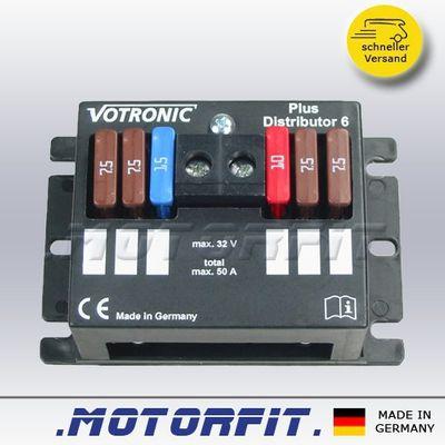 Votronic Plus-Distributor 6  - 12V Sicherungskasten Sicherung – Bild 1
