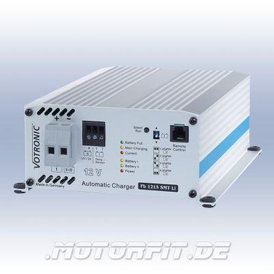 Votronic Ladegerät Pb 1215 SMT Li - für Lithium-Batterien / Pb1215 SMT Li