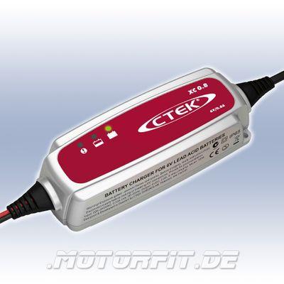 CTEK XC 0.8 - 6V/0,8A Ladegerät - lädt und wartet 6V-Batterien von 1,2-100Ah – Bild 1