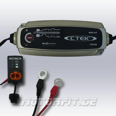 CTEK MXS 5 neuste Ausführung Plus Ladezustandsanzeige EINBAU – Bild 1