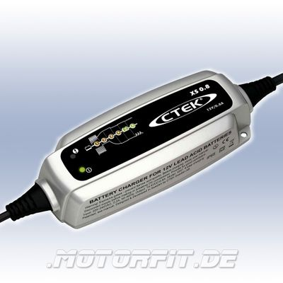 CTEK XS 0.8 - 12V/0,8A Ladegerät - perfekt für das Laden kleinerer 12V-Batterien – Bild 1