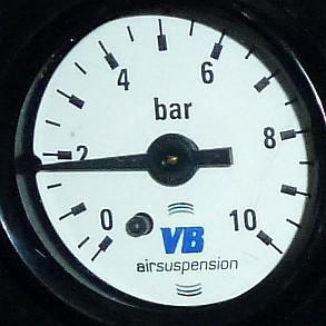 VB-SA1C Manometer, einzeln