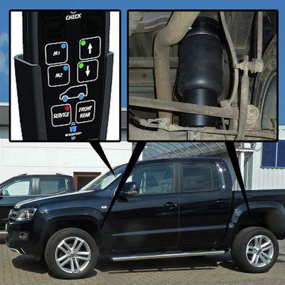 Luftfederung für Volkswagen Amarok - Amarok 2010-heute - Hinterachse - Voll-Luftfederung